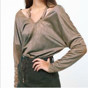 Loveriche Not Too Casual Cutout Top